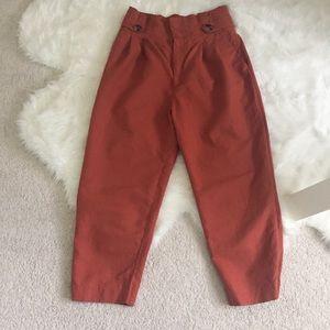 Zara Button Waist Trousers, size M
